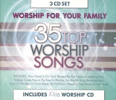 Worship for Your Family (3 CD Set)   -
