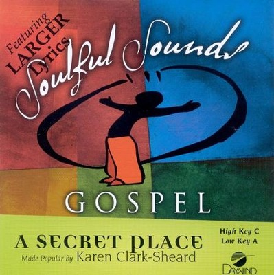 A Secret Place, Accompaniment CD   -     By: Karen Clark-Sheard