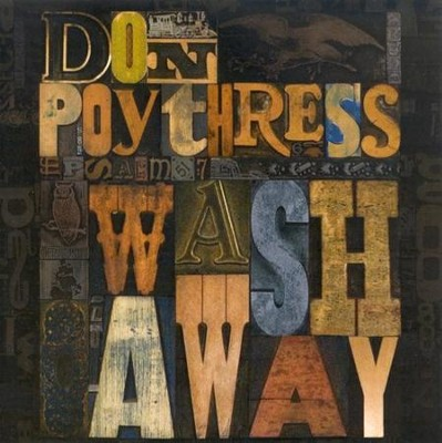 Wash Away CD   -     By: Don Poythress