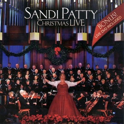 Christmas Live, CD/DVD   -     By: Sandi Patty