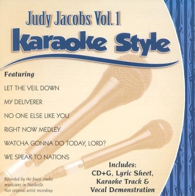 Judy Jacobs, Volume 1, Karaoke Style CD   -