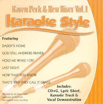 Karen Peck & New River, Volume 1, Karaoke Style CD      -