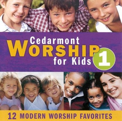 Cedarmont Worship for Kids: Volume 1, CD   -     By: Cedarmont Kids