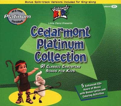 Cedarmont Platinum Collection, 5 CD Set   -     By: Cedarmont Kids