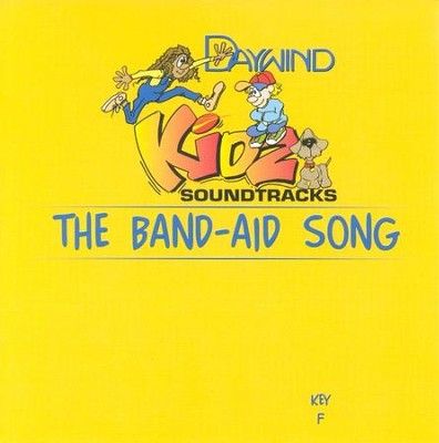 The Band-Aid Song, Accompaniment CD   -     By: Kidz