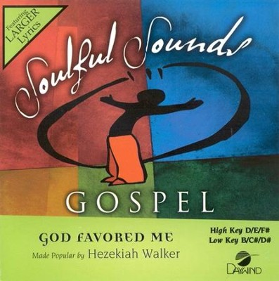 God Favored Me, Accompaniment CD  -     By: Hezekiah Walker