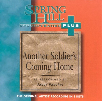 Another Soldier's Coming Home, Accompaniment CD   -     By: Janet Paschal