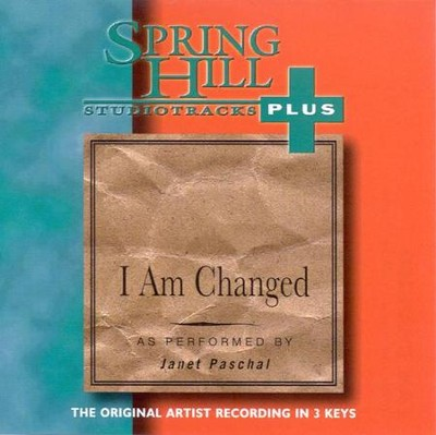 I Am Changed, Accompaniment CD   -     By: Janet Paschal