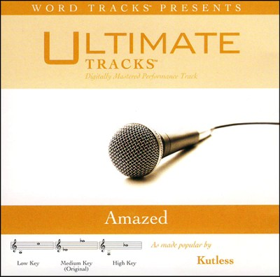 Amazed (Medium Key Performance Track w/ Background Vocals)  [Music Download] -
