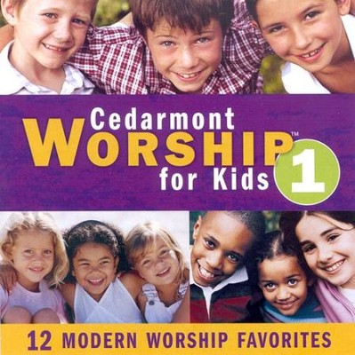 Cedarmont Worship for Kids: Volume 1 (with Split Tracks), CD   -     By: Cedarmont Kids