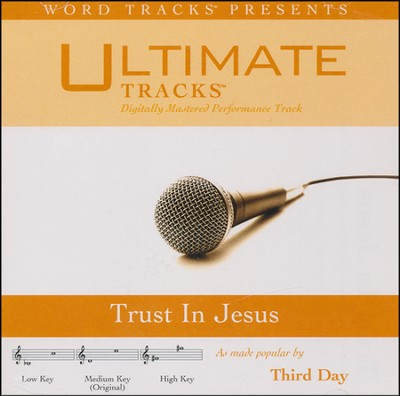 Trust In Jesus (Low Key Performance Track w/ Background Vocals)  [Music Download] -
