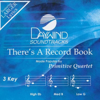 There's A Record Book   -     By: Primitive Quartet