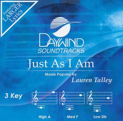 Just As I Am, Acc CD    -     By: Lauren Talley