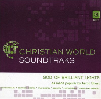 God of Brilliant Lights Acc, CD  -     By: Aaron Shust