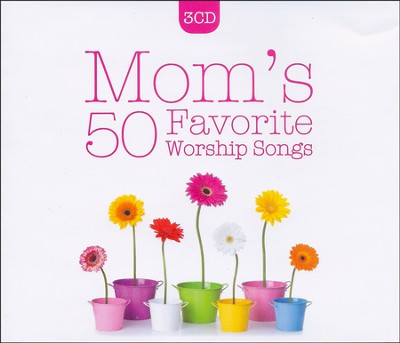 Mom's 50 Favorite Worship Songs (3 CD Set)   -