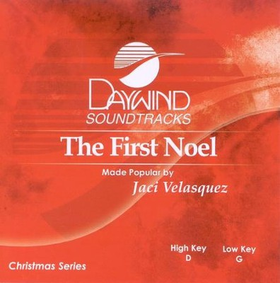 The First Noel, Accompaniment CD   -     By: Jaci Velasquez