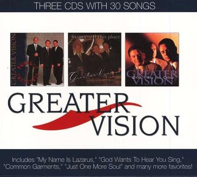 Greater Vision (3 CD Boxed Set)   -     By: Greater Vision