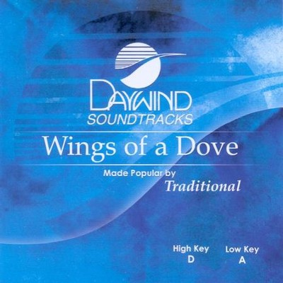 Wings of A Dove, Accompaniment CD   -
