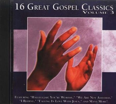 16 Great Gospel Classics, Volume 3 CD   -