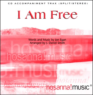 I Am Free (CD Octavo Track) CD  -     By: Jon Egan