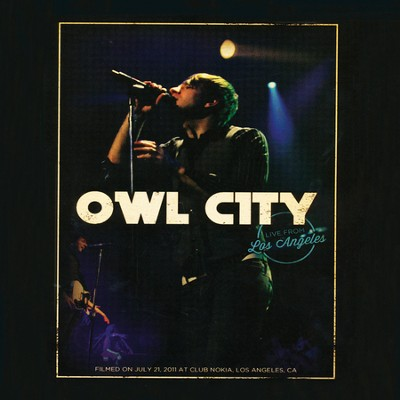 Live from Los Angeles DVD   -     By: Owl City