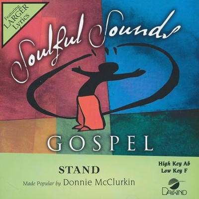 Stand Acc, CD  -     By: Donnie McClurkin
