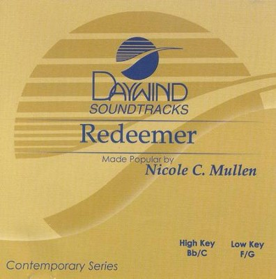 Redeemer, Accompaniment CD   -     By: Nicole C. Mullen
