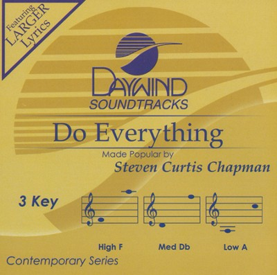 Do Everything, Acc CD   -     By: Steven Curtis Chapman