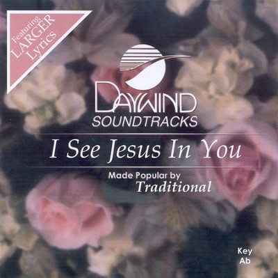 I See Jesus In You, Accompaniment CD   -