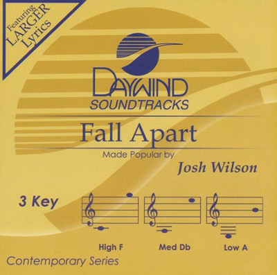 Fall Apart, Acc CD   -     By: Josh Wilson