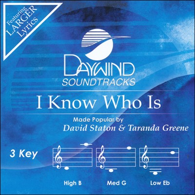 I Know How Is Acc, CD  -     By: David Staton, Taranda Greene