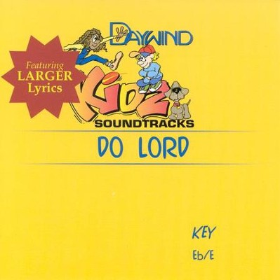 Do Lord, Accompaniment CD   -
