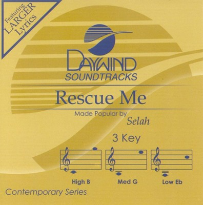 Rescue Me, Accompaniment CD   -     By: Selah