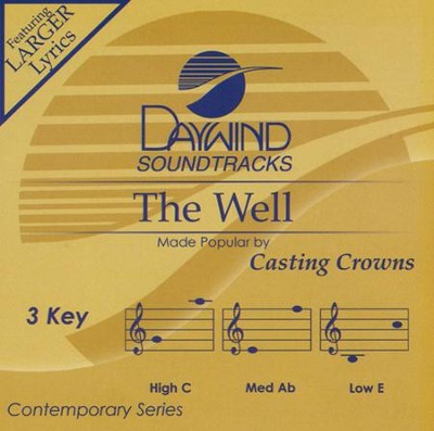 The Well, Acc CD    -     By: Casting Crowns