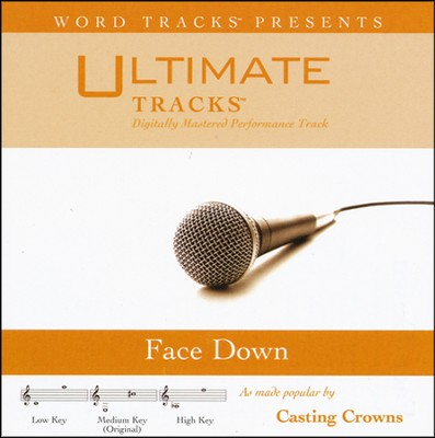 Face Down (Medium Key Performance Track With Background Vocal)  [Music Download] -