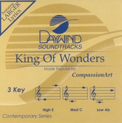 King Of Wonders, Accompaniment CD  -     By: Matt Redman, Tim Hughes, Joel Houston
