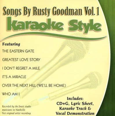 Songs By Rusty Goodman, Volume 1   -