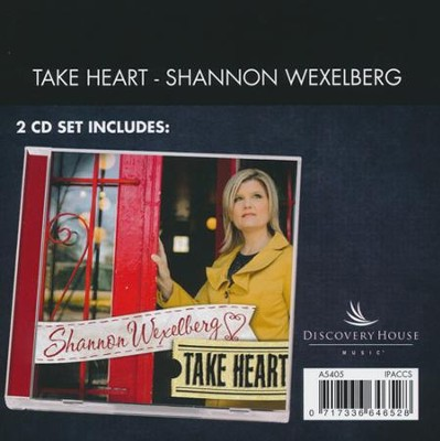 Take Heart (Demo and Performance CD's)   -     By: Shannon Wexelberg