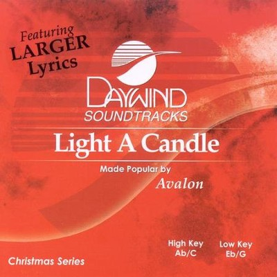 Light a Candle, Accompaniment CD   -     By: Avalon