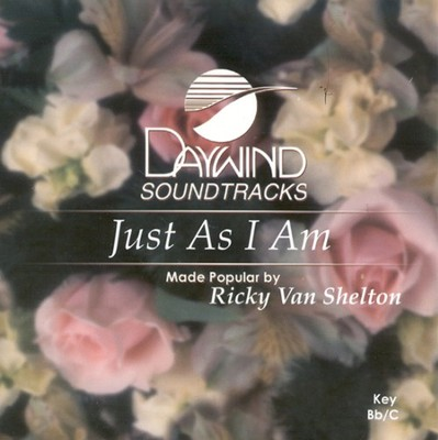 Just As I Am, Accompaniment CD   -     By: Ricky Van Shelton