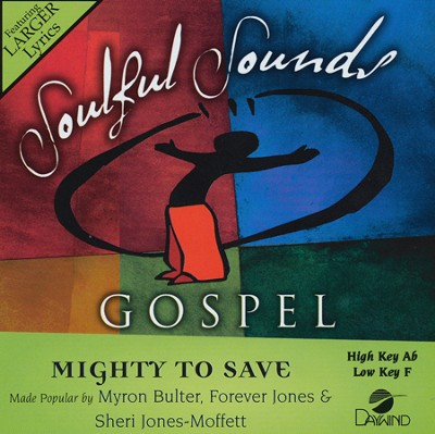 Mighty To Save, Acc CD   -     By: Myron Butler