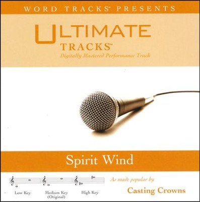 Spirit Wind (Medium Key Performance Track With Background Vocals)  [Music Download] -