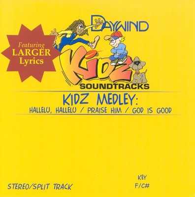 Kidz Medley, Accompaniment CD   -