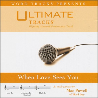 When Love Sees You (Medium Key Performance Track With Background Vocals)  [Music Download] -