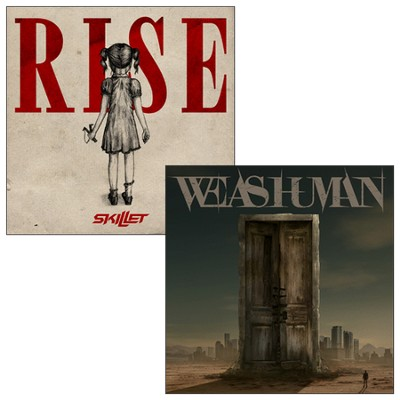 Rise & We As Human Set   -     By: Skillet, We As Human
