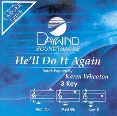 He'll Do It Again, Acc CD   -     By: Karen Wheaton