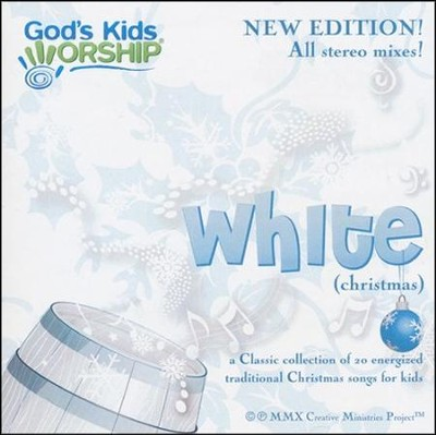 White (Christmas) CD New Edition   -