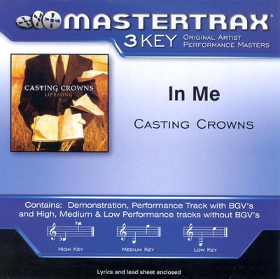 In Me, Accompaniment CD   -     By: Casting Crowns