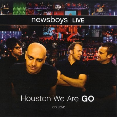 Houston We Are Go CD/DVD   -     By: Newsboys