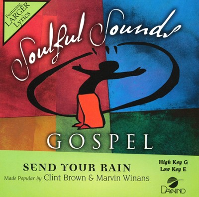 Send Your Rain, Acc CD    -     By: Clint Brown, Marvin Winans
